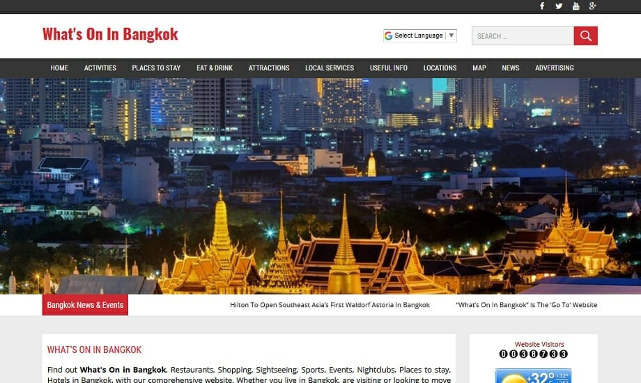 Whats on in Bangkok